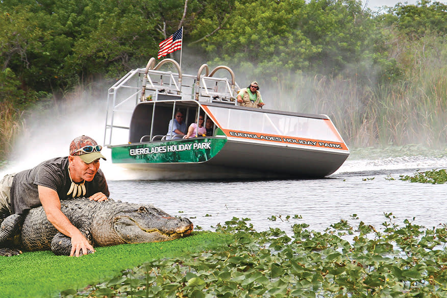 Everglades Holiday Park Airboat Tours