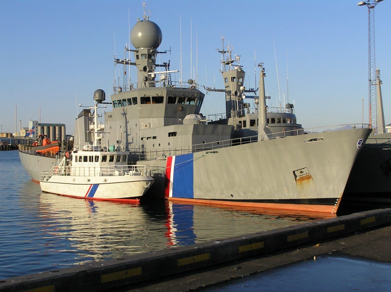 Icelandic Coast Guard Patrols