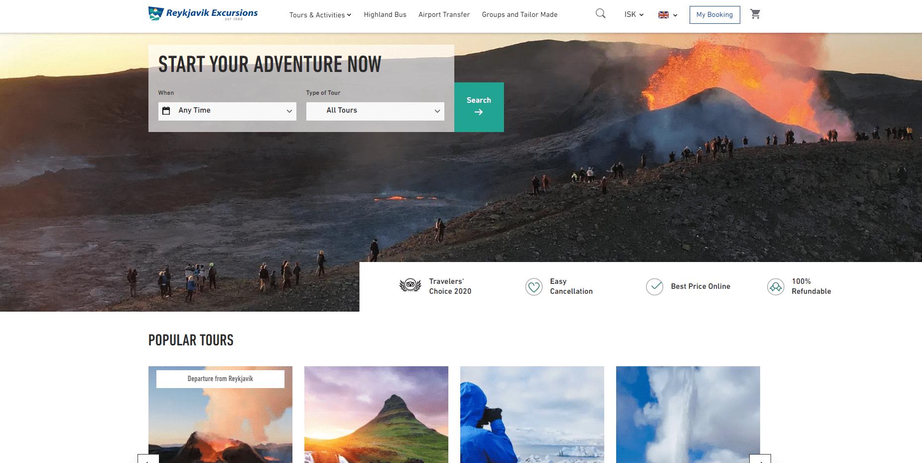 Icelandic Coastline Tours