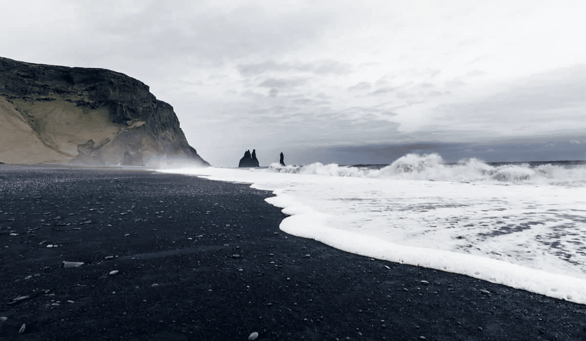Reynisfjara is different from other black sand beaches