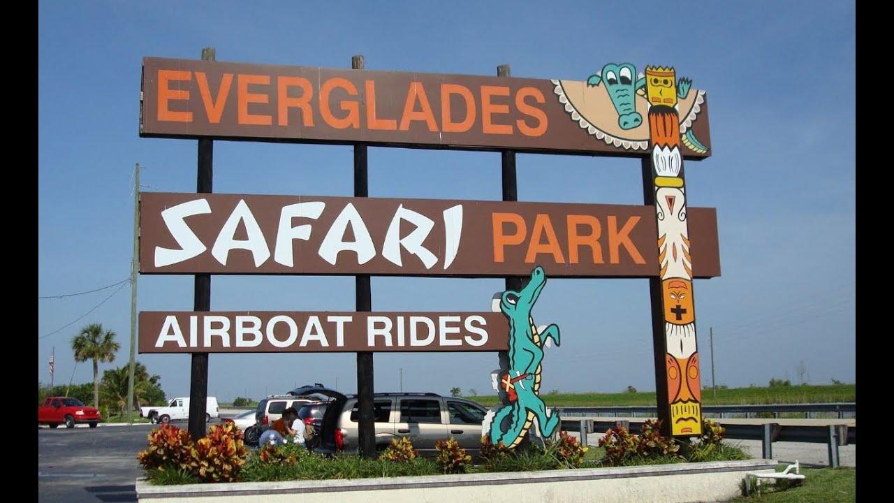 a Safari Tour in the Everglades